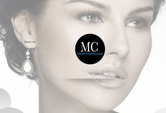 Criação de Sites para MC Model International, agencia de modelos em Mexico, Video vinheta, Design gráfico | Digitale7
